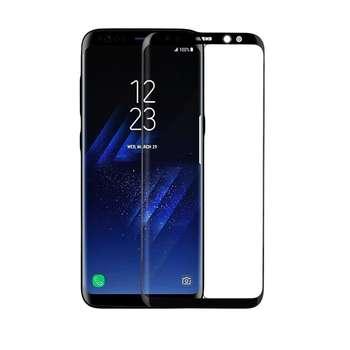 محافظ صفحه نمایش شیشه ای مدل 5D Full Glue مناسب برای گوشی سامسونگ S8 پلاس