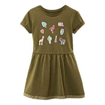 پیراهن دخترانه لوپیلو مدل 3032