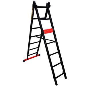 نردبان 14 پله ماندگار مدل پارس به همراه پایه تعادل