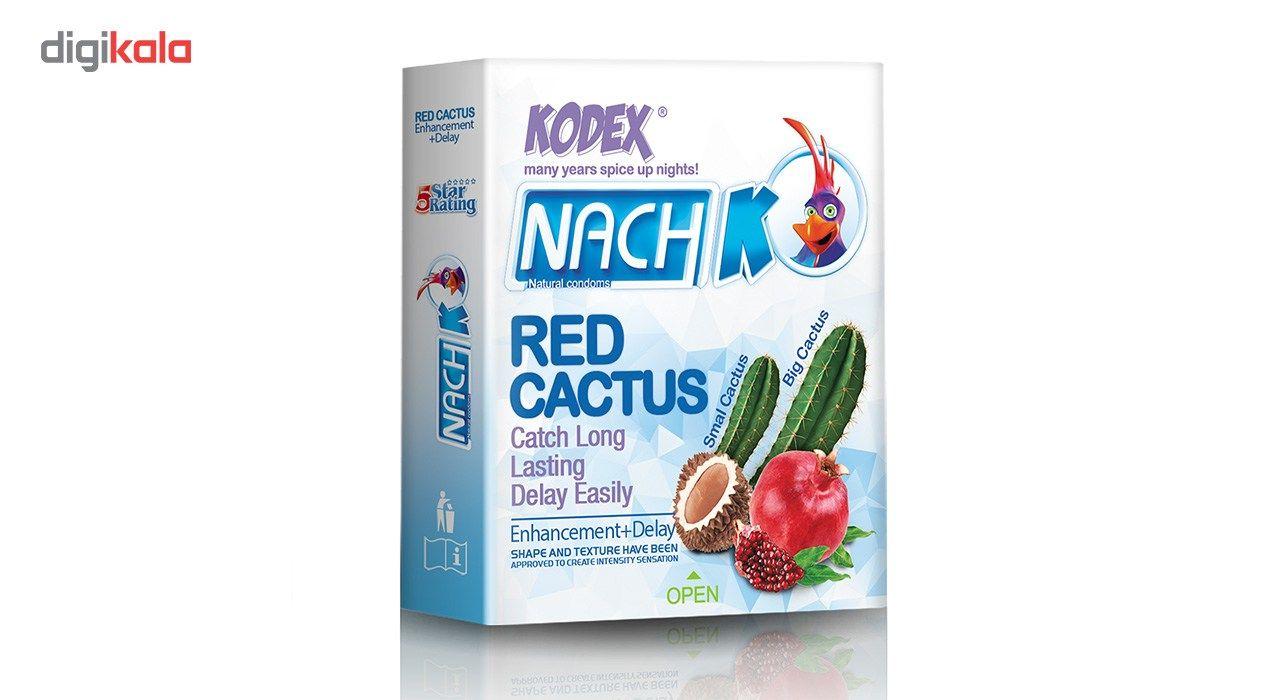 کاندوم کدکس مدل Red Cactus بسته 3 عددی main 1 1