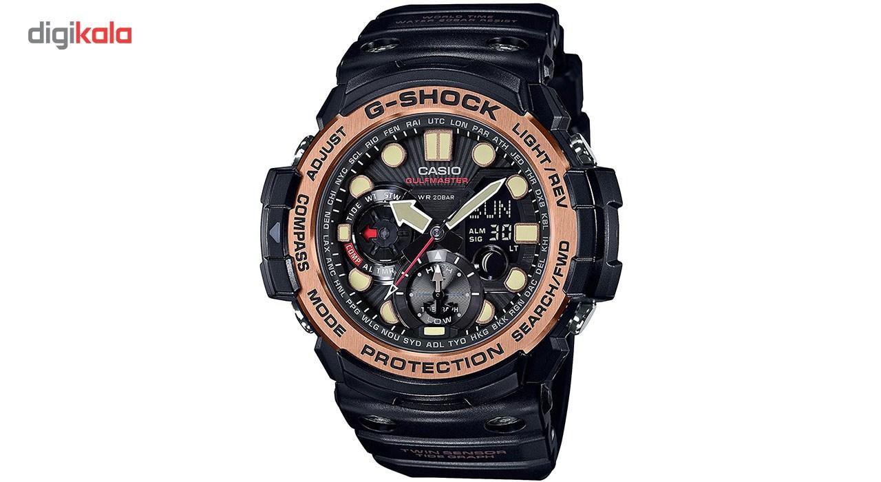 ساعت مچی عقربه ای مردانه کاسیو جی شاک مدل GN-1000RG-1ADR 7