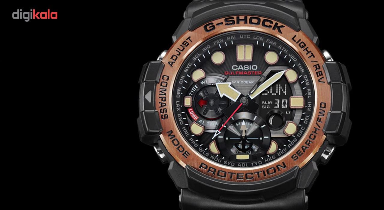 خرید ساعت مچی عقربه ای مردانه کاسیو جی شاک مدل GN-1000RG-1ADR