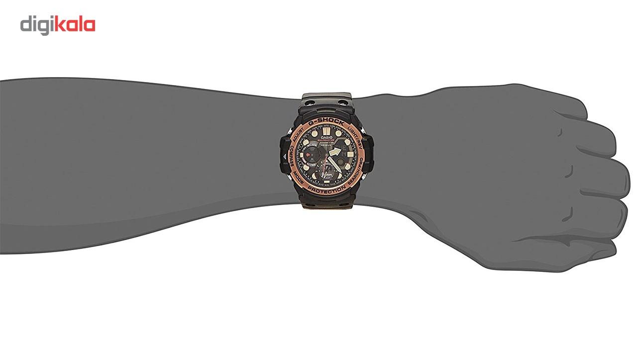 ساعت مچی عقربه ای مردانه کاسیو جی شاک مدل GN-1000RG-1ADR -  - 3