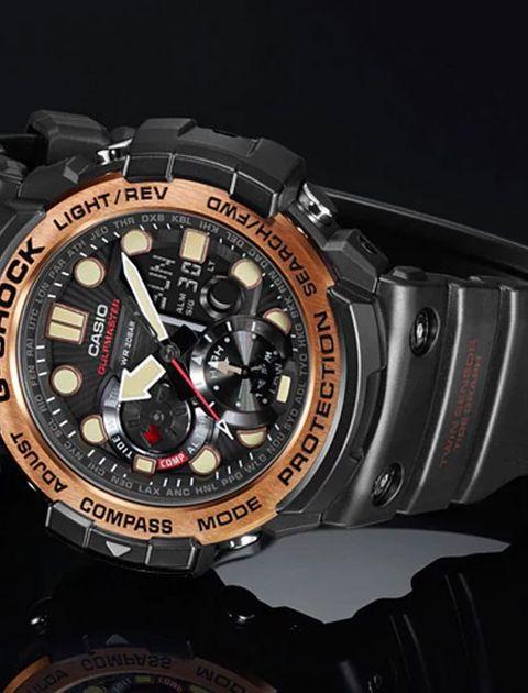 ساعت مچی عقربه ای مردانه کاسیو جی شاک مدل GN-1000RG-1ADR -  - 4