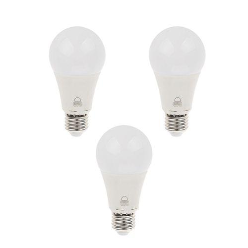 لامپ ال ای دی 10 وات بروکس  پایه E27 بسته 3 عددی