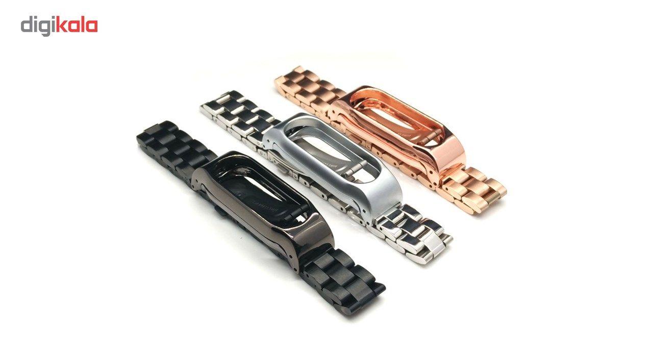بند مچ بند هوشمند شیائومی مدل Mi Band 2 Stainless Steel 2 main 1 6