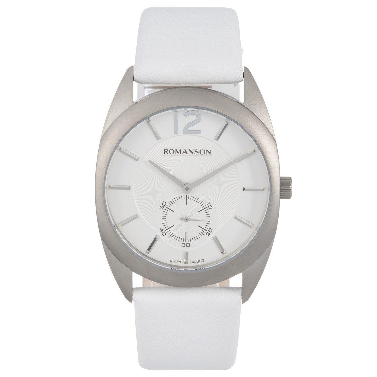 ساعت مچی عقربه ای مردانه رومانسون مدل TL1246MM1WAS2W -  - 1