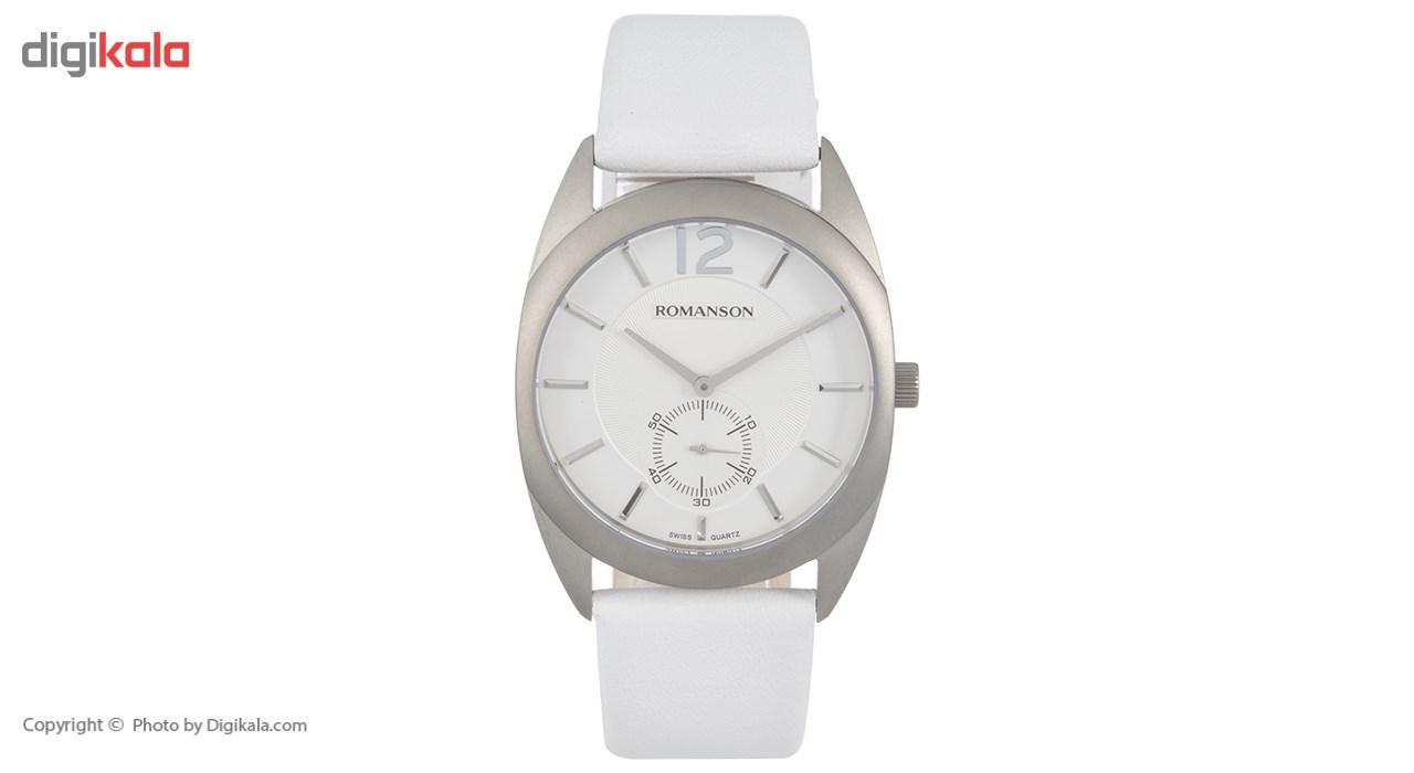ساعت مچی عقربه ای مردانه رومانسون مدل TL1246MM1WAS2W