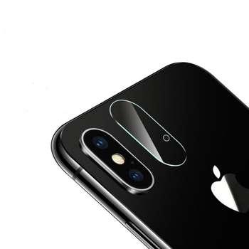 محافظ لنز دوربین شیشه ای مدل تمپرد مناسب برای گوشی موبایل اپل آیفون X