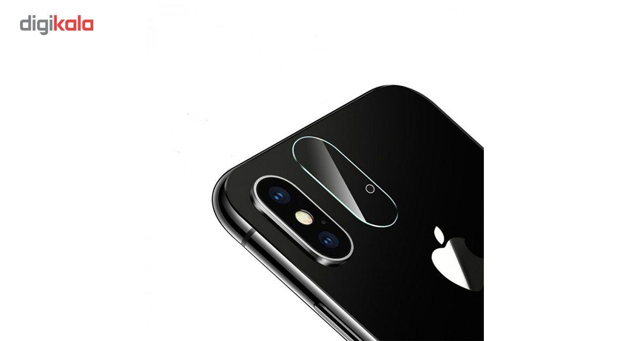 محافظ لنز دوربین شیشه ای مدل تمپرد مناسب برای گوشی موبایل اپل آیفون X main 1 1