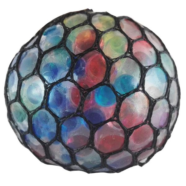 توپ بازی ضد استرس مدل Gel Bullets Mesh Squish Ball