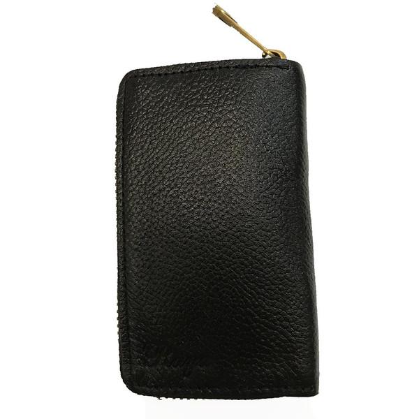 جاسوییچی چرم رایا مدل Zipper