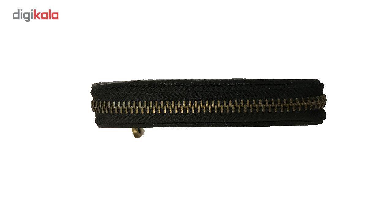 جاسوییچی چرم رایا مدل Zipper -  - 2