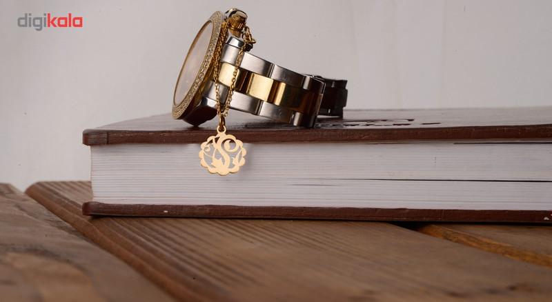آویز ساعت طلا 18 عیار شانا مدل WSG40