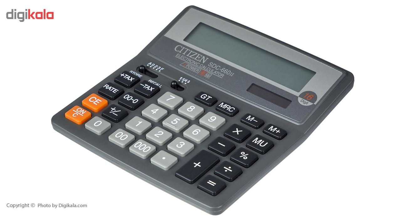 قیمت                      ماشین حساب سیتیزن مدل  SDC-660II