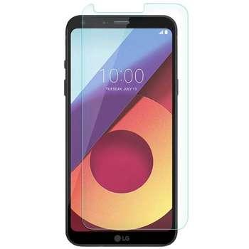 محافظ صفحه نمایش شیشه ای مدل Tempered مناسب برای گوشی موبایل ال جی Q6