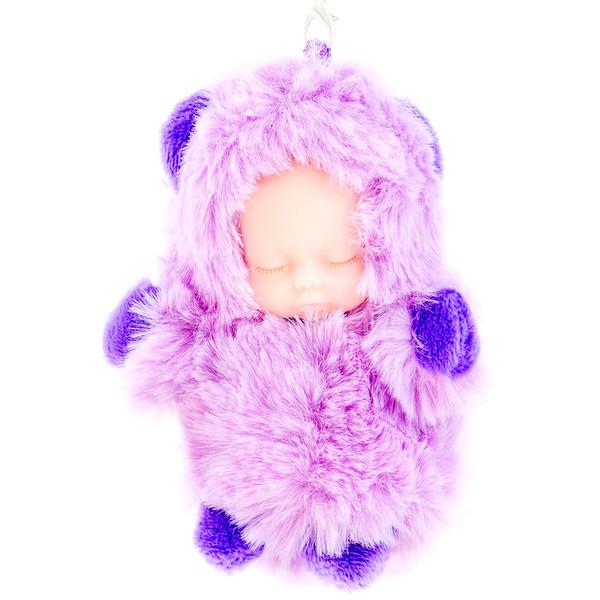 جا کلیدی زنانه مدل Purple Bear Dress