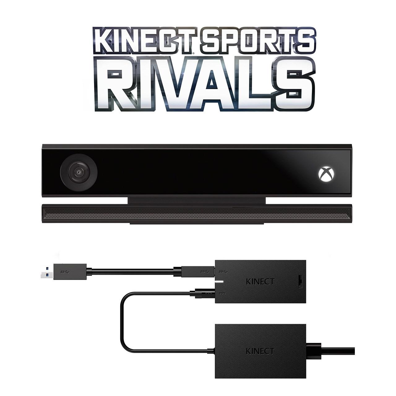 مجموعه حسگر حرکتی مایکروسافت مدل Kinect به همراه مبدل کینکت