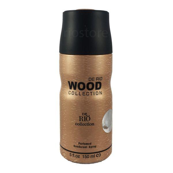 اسپری ضد تعریق مردانه ریو کالکشن مدل Wood Brown