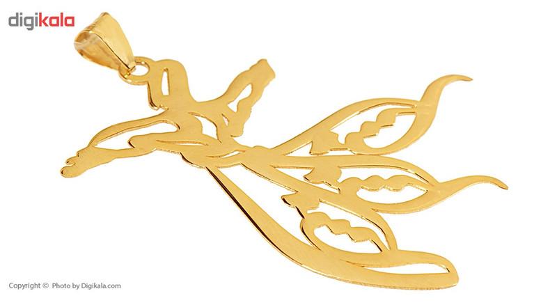 آویز گردنبند طلا 18 عیار ماهک مدل MN0215 - مایا ماهک