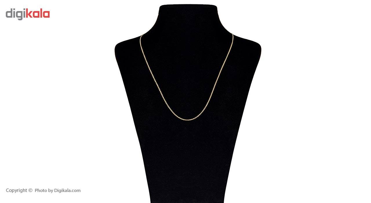 زنجیر طلا 18 عیار ماهک مدل MM0648 - مایا ماهک -  - 2