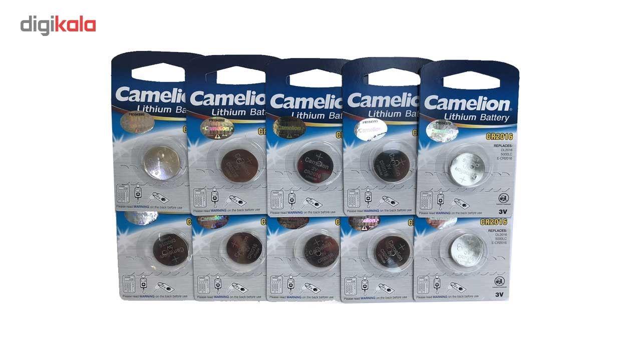 باتری سکه ای کملیون مدل CR2016 بسته 10 عددی main 1 1
