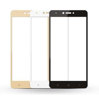 محافظ صفحه نمایش شیشه ای تمپرد مدل Full Cover مناسب برای گوشی موبایل Xiaomi Redmi Note 4X