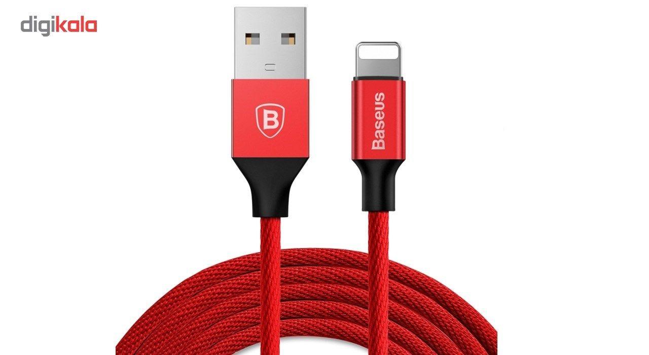 کابل تبدیل USB به لایتنینگ باسئوس مدل Yiven طول 1.8 متر main 1 1
