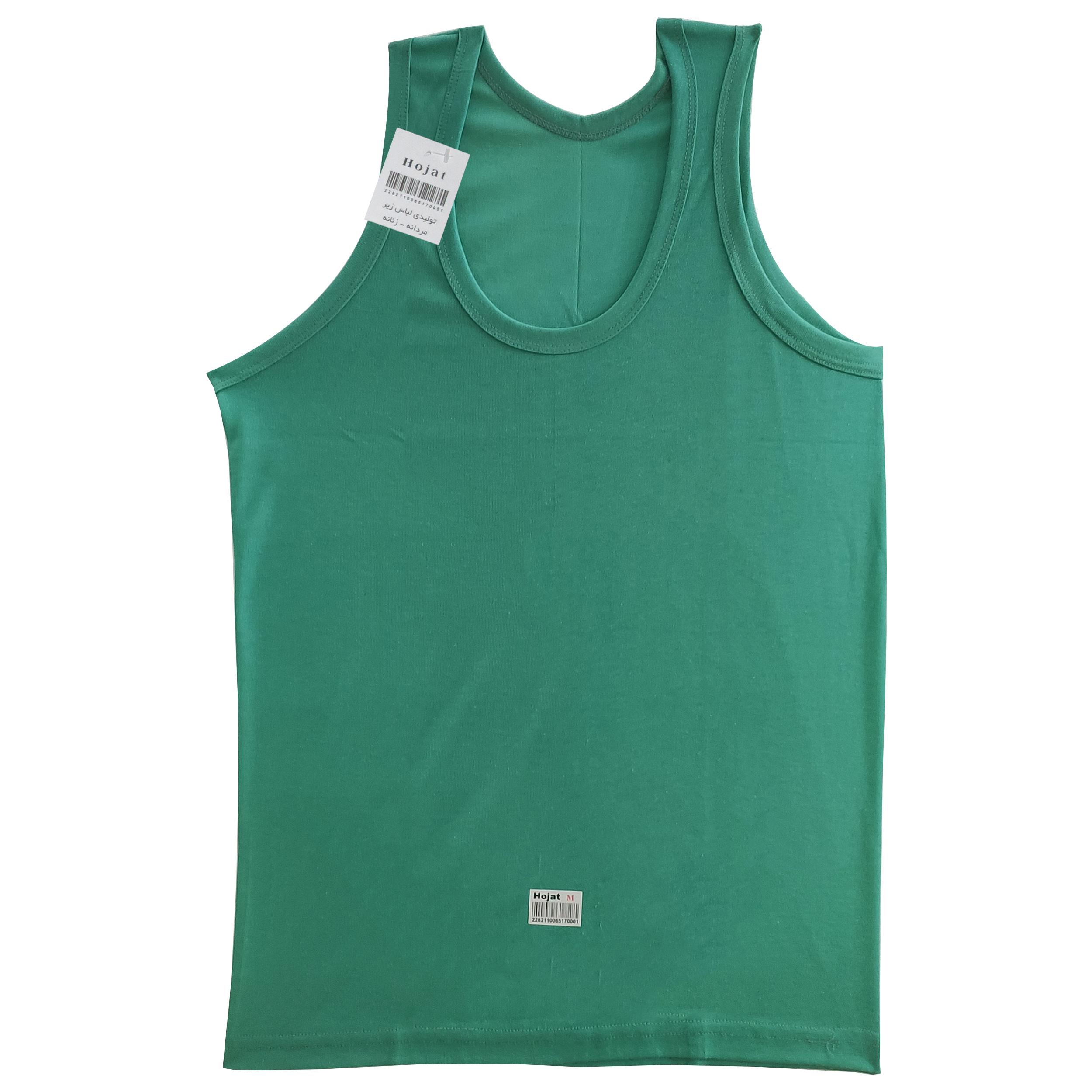 زیرپوش پسرانه حجت مدل REK کد 30587 رنگ سبز روشن