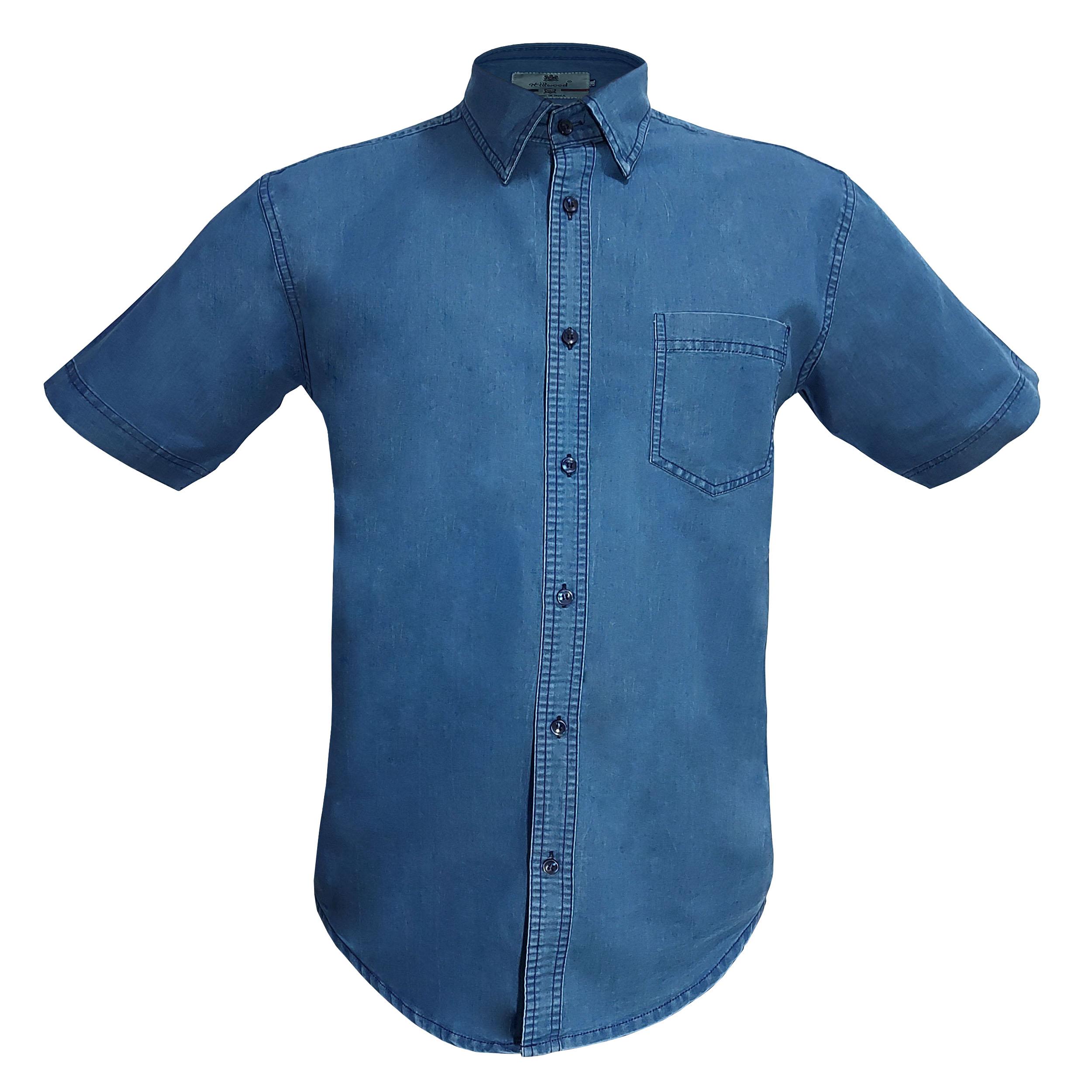 پیراهن آستین کوتاه مردانه مدل 130