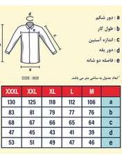 پیراهن مردانه پاتن جامه کد 98MR8691 رنگ مشکی  -  - 2