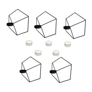 جا شمعی مدل Ogips بسته پنج عددی به همراه شمع