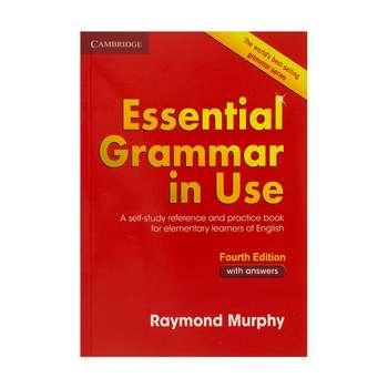 کتاب Essential Grammar In Use 4th Edition اثر Raymond Murphy انتشارات دانشگاه کمبریج