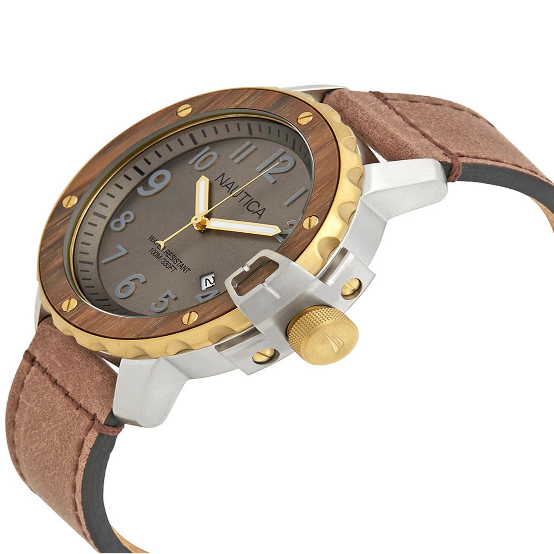 ساعت مچی عقربهای مردانه ناتیکا مدل NAD15515G