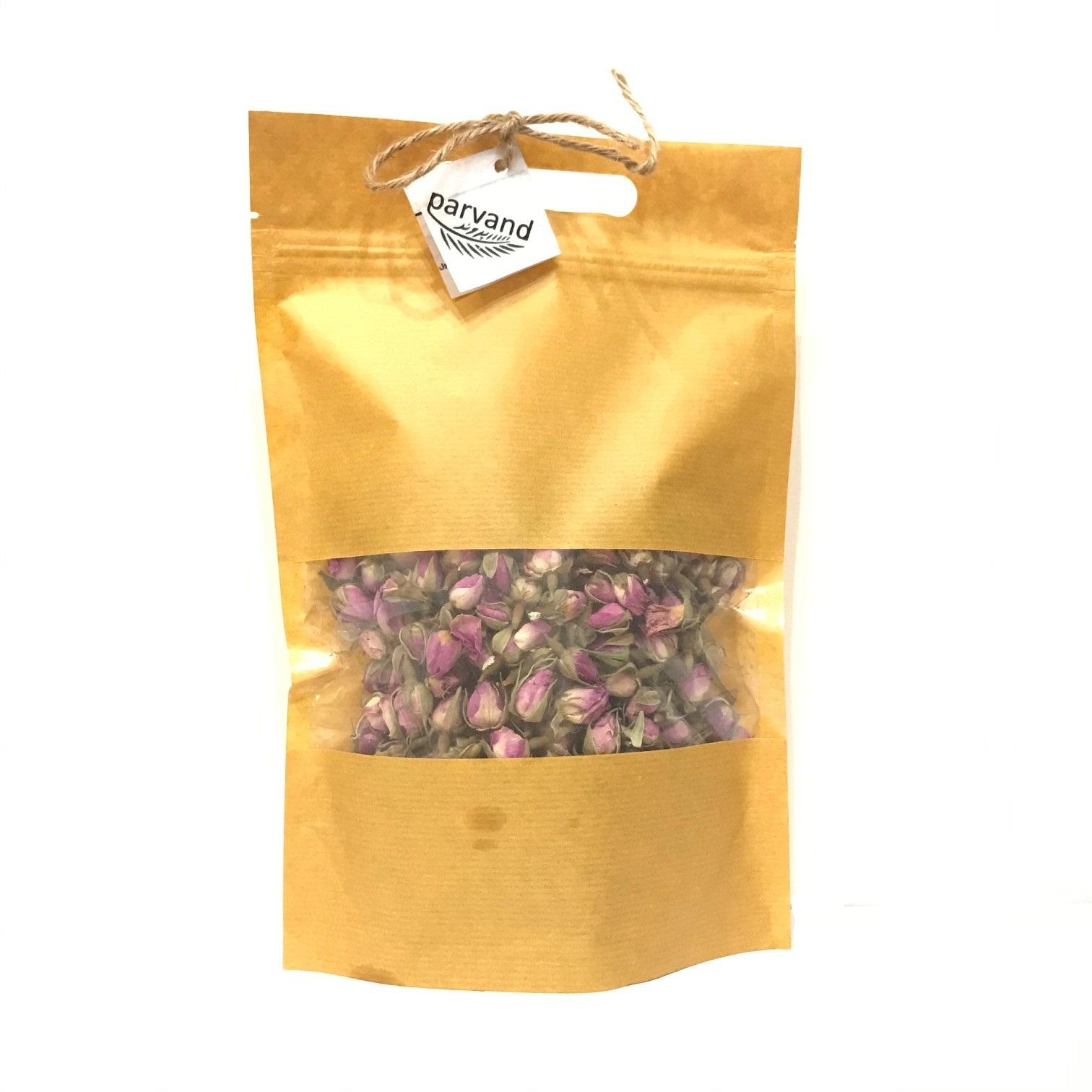 غنچه گل محمدی پروند - 200 گرم