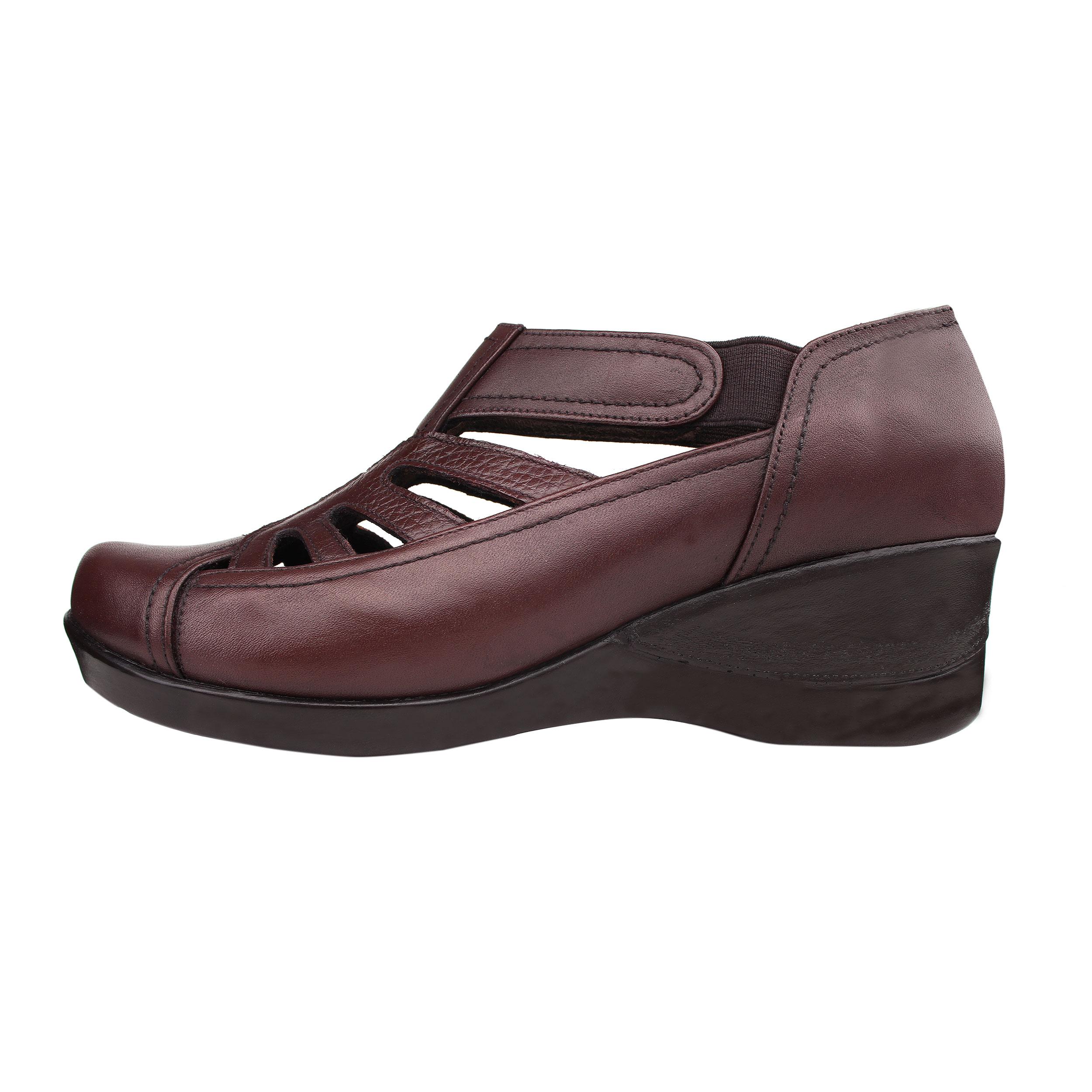 کفش طبی زنانه روشن مدل 495 کد 22
