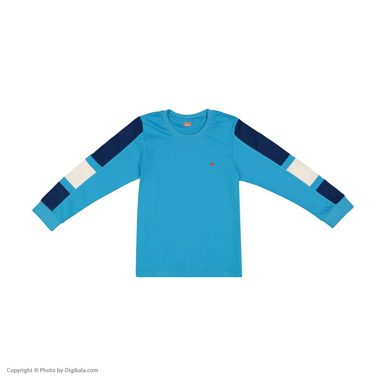 ست تی شرت و شلوار پسرانه مادر مدل 308-53 main 1 8