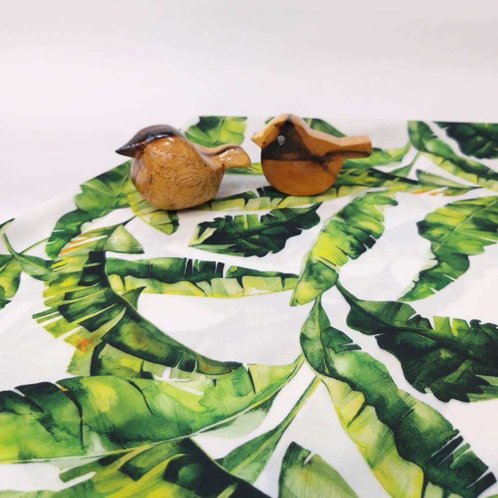 خرید                      پارچه لباس طرح برگ کد 2222