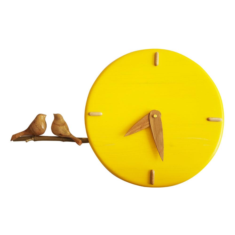 ساعت دیواری مدل گنجشک کد 413
