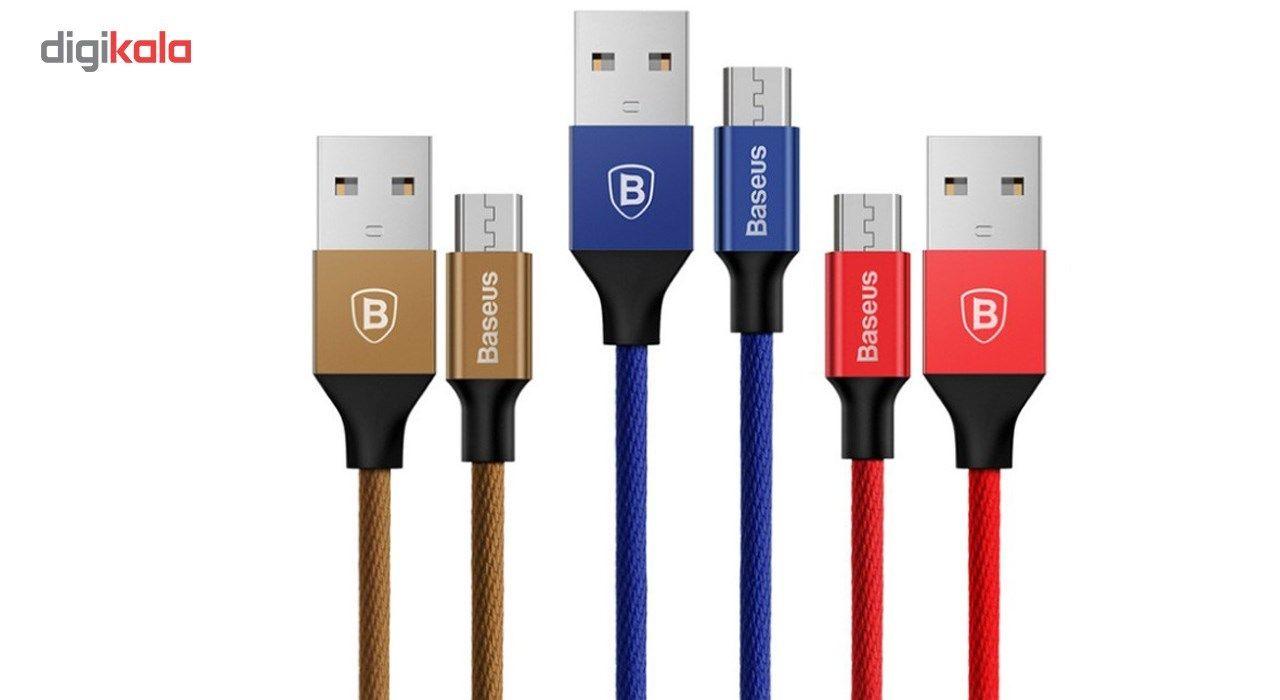 کابل تبدیل USB به لایتنینگ باسئوس مدل Yiven طول 1.8 متر main 1 2