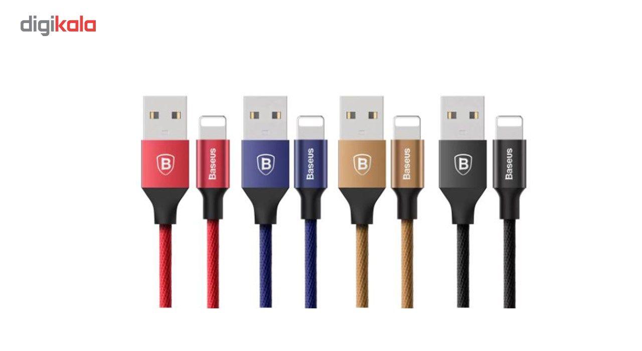 کابل تبدیل USB به لایتنینگ باسئوس مدل Yiven طول 1.8 متر main 1 3
