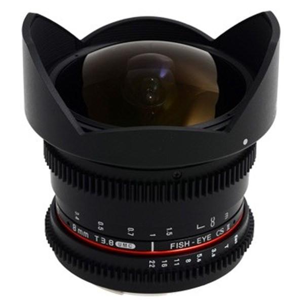 لنز سامیانگ سامیانگ 8mm T3.8 Asph IF MC Fisheye CSII DH VDSLR Nikon AE