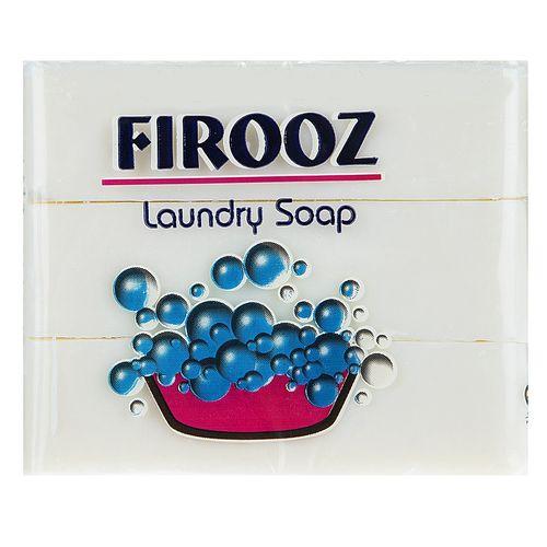 صابون لباسشویی فیروز مقدار 120 گرم بسته 3 عددی