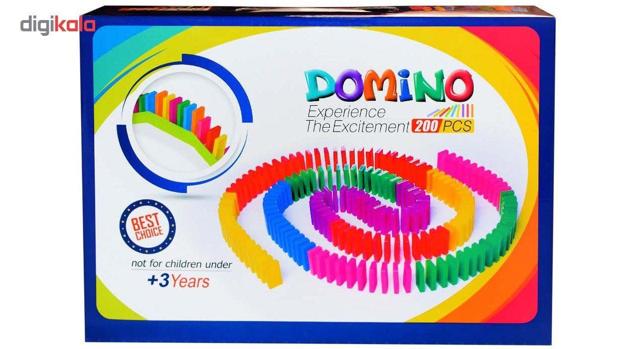 بازی فکری 200تکه دومینو مدل 11