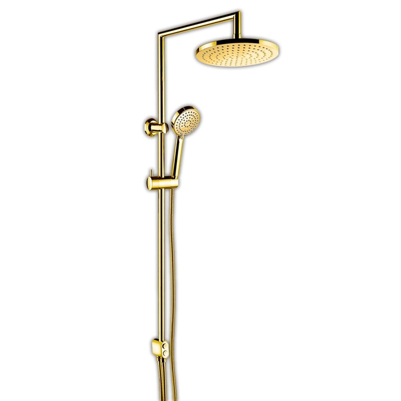 دوش حمام ملودی مدل اسمارت طلایی