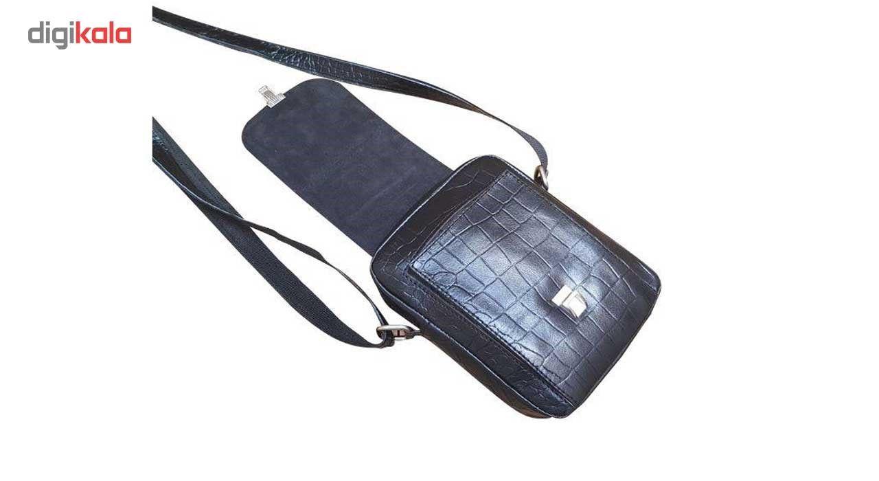 کیف رو دوشی زانکو چرم مدل کرو کد KD-132 main 1 5