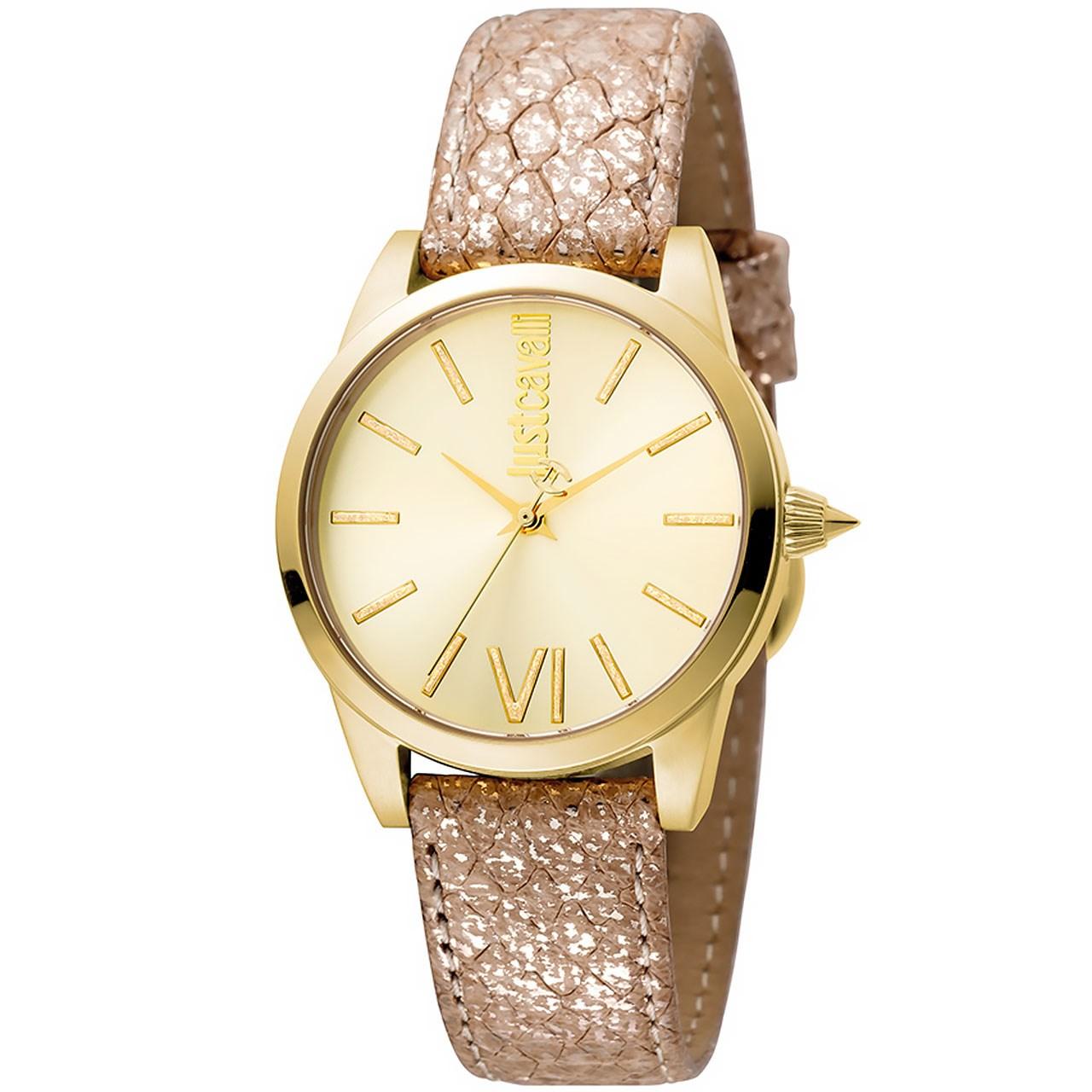 ساعت مچی عقربه ای زنانه جاست کاوالی مدل JC1L010L0045