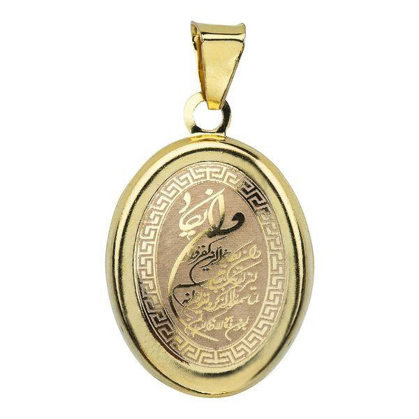 آویز گردنبند طلا 18 عیار ماهک مدل MM0703