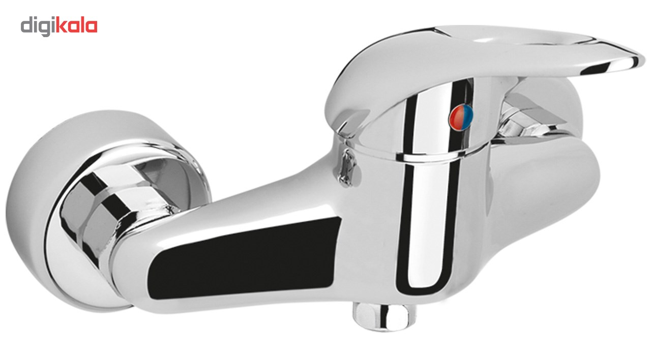 شیر توالت کسری مدل ساحل Kasra sahel shower mixer