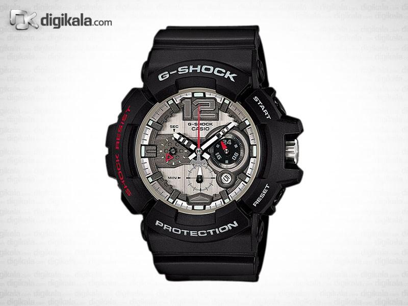 خرید ساعت مچی عقربه ای مردانه کاسیو جی شاک GAC-110-1ADR